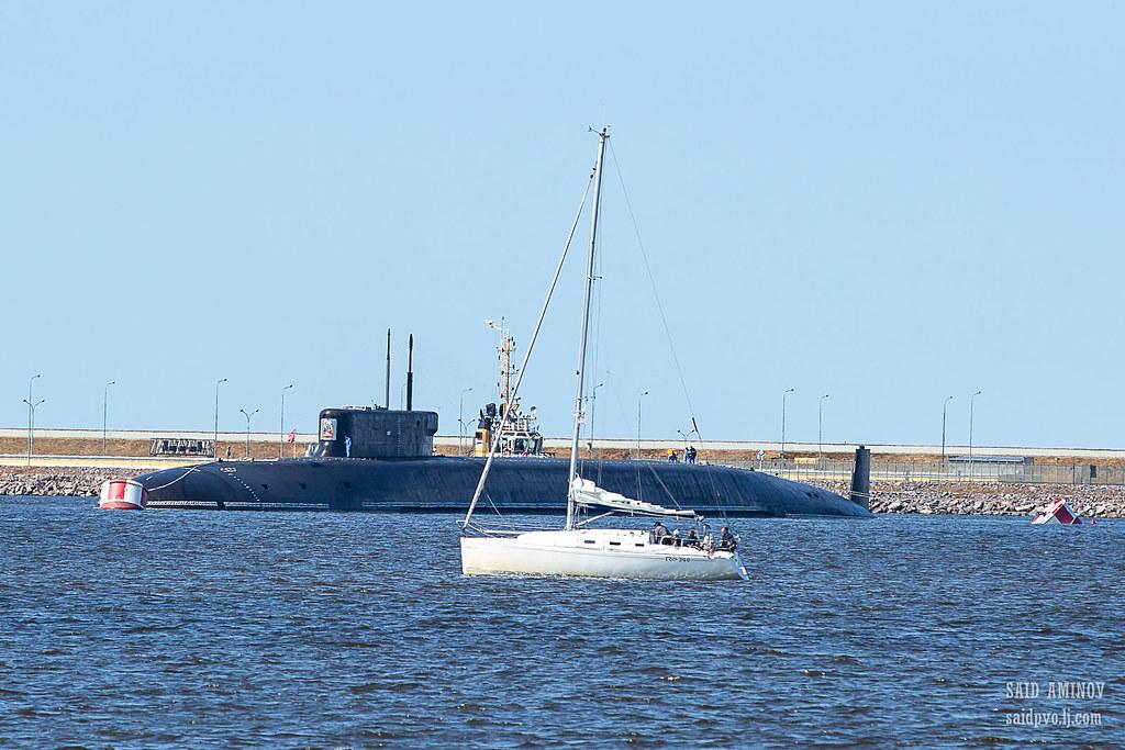ГВМП-2021. Часть 1 - Подводные лодки в Кронштадте H18A3839