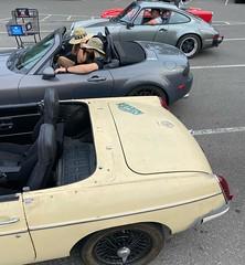 Weekends are for driving #mgb #mx5 #porsche911 #triumphTR4A