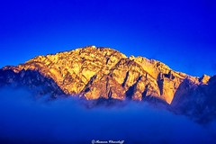 Mountains of North Ossetia Alania.