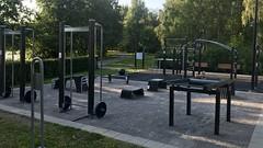 Open-air gym