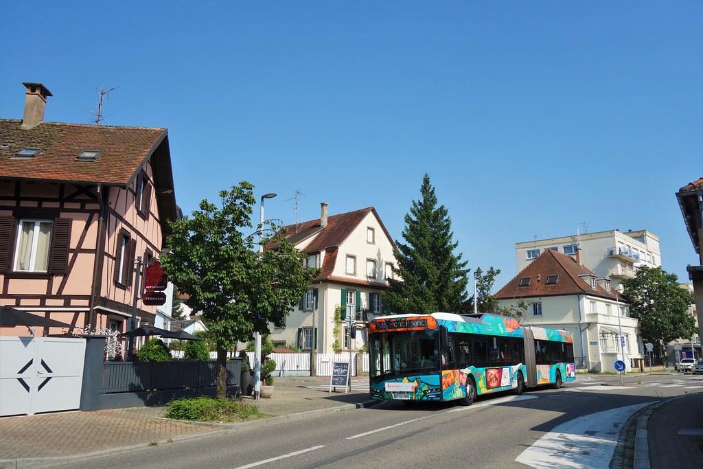 Solaris Urbino 18 IV n°705  -  Strasbourg, CTS