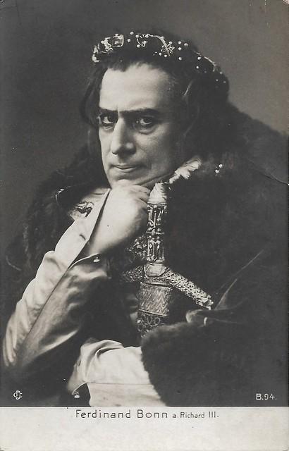 Ferdinand Bonn as Richard III