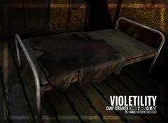 Violetility - Camp Forsaken Bed