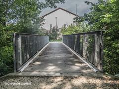 SUH610 Pedestrian Bridge over the Suhre River, Oberentfelden, Canton of Aargau, Switzerland