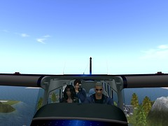 Just flying around and having fun