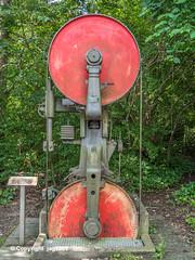 Sawmill-Monument, Oberentfelden, Canton of Aargau, Switzerland
