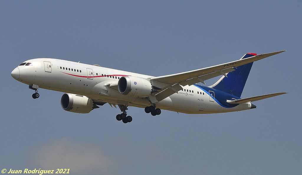 P4-787 - Comlux Aviation Aruba - Boeing 787-8 Dreamliner - PMI/LEPA