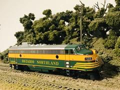 Une partie de ma collection personnelle de locomotives!
