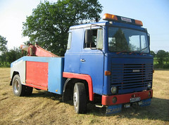 1976 Scania 111 Recovery Truck seen on ebay