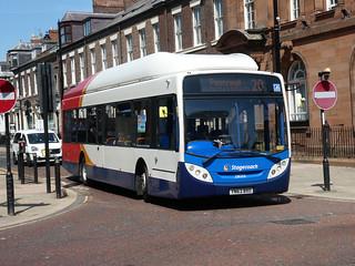 Stagecoach in Sunderland 28001 (YN63 BXO)