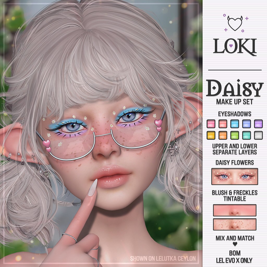 Loki • Daisy Make Up Set • #SoKawaiiSundays | 01.08.21