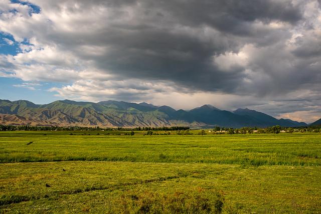 Chon-Kemin valley, Chuy Province, Kyrgyzstan