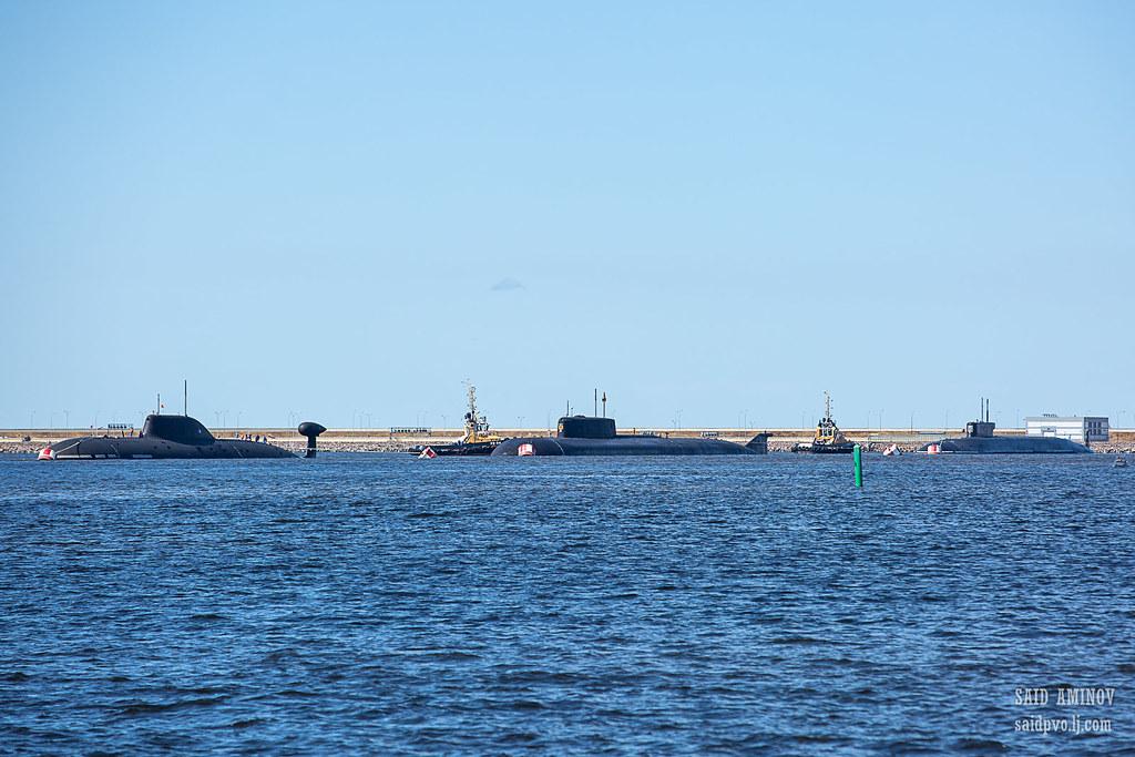 ГВМП-2021. Часть 1 - Подводные лодки в Кронштадте H18A3729