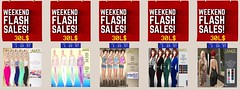 WEEKEND FLASH SALES - ITEMS ONLY 30L$