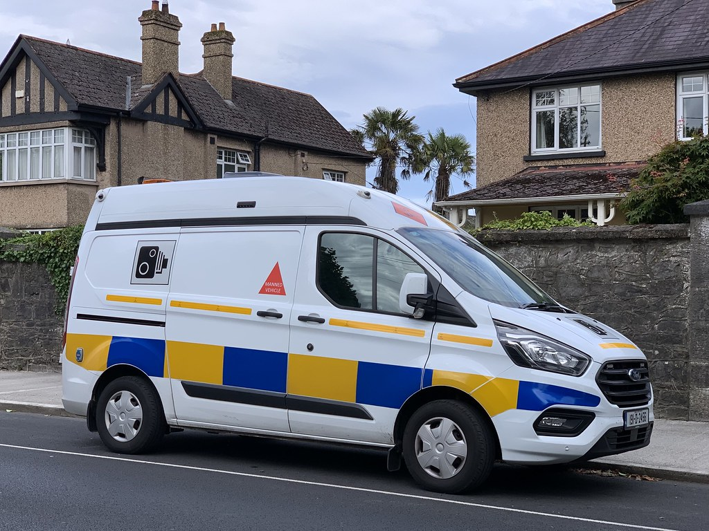 Speed Camera Van - O'Connell Avenue, Limerick