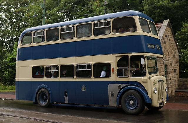 Rotherham Corporation Transport: 220 KET220 Daimler CV6G/Weymann