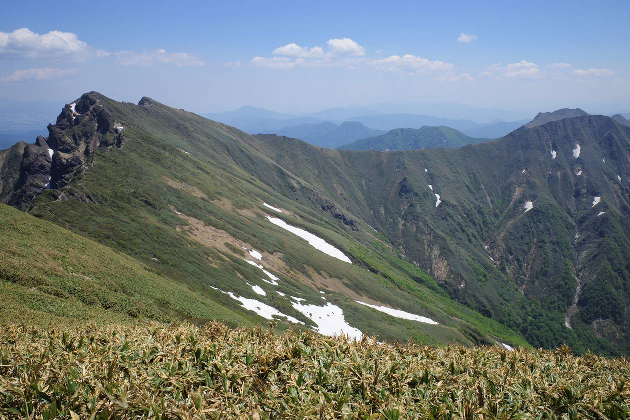 谷川岳主脈稜線