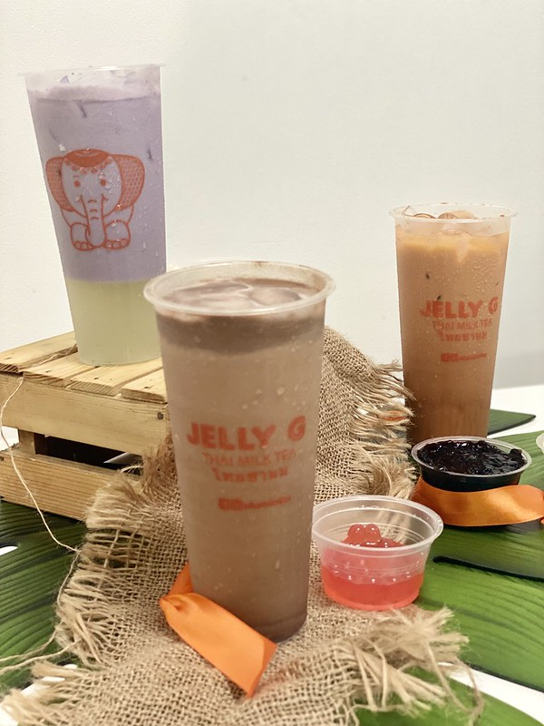 Jelly G and Jac's Lemonade