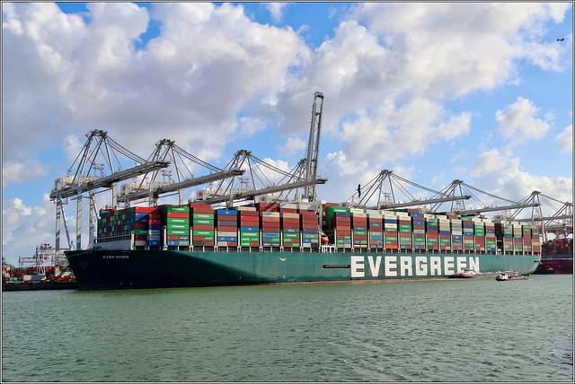 Ever given - Amazonehaven, Maasvlakte Rotterdam - 29/7/2021