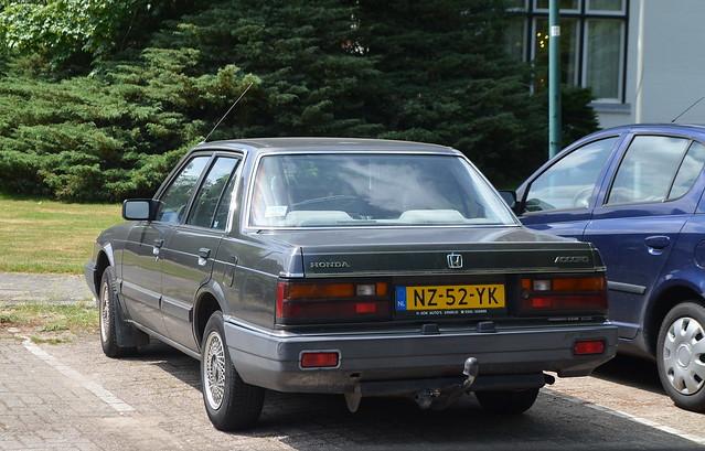 1986 Honda Accord NZ-52-YK