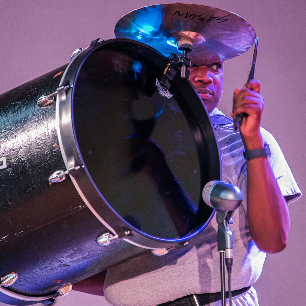 New Breed Brass Band, bass drum