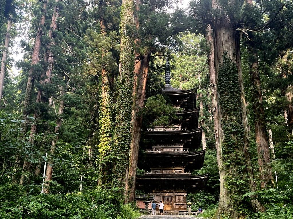 Five Pagoda Tower #2 in Mt. Haguro