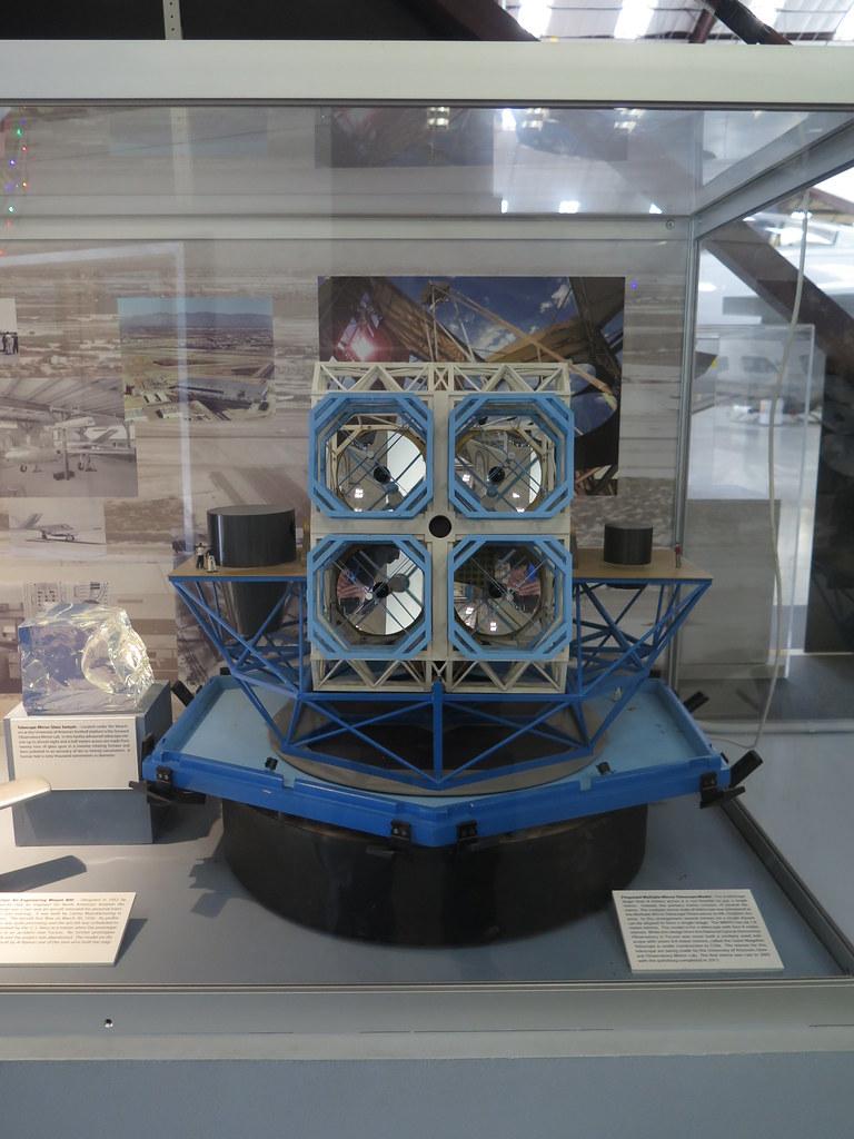 Proposed Multiple Mirror Telescope Model
