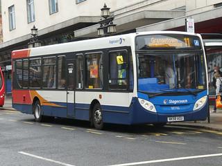 Stagecoach in Sunderland 39710 (NK58 AGU)