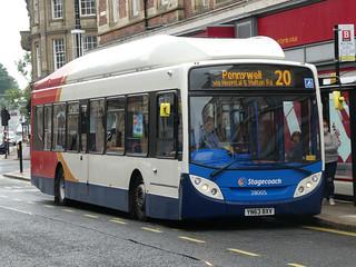 Stagecoach in Sunderland 28005 (YN63 BXV)