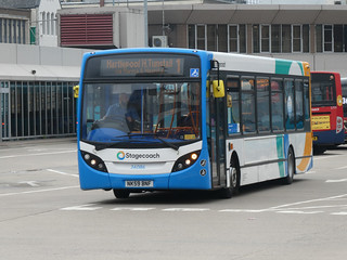 Stagecoach in Hartlepool 36086 (NK59 BNF)