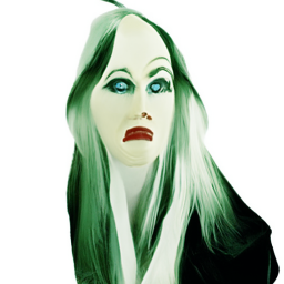'a surrealist painting of a witch' CLIP Guided Diffusion v2 vText-to-Image