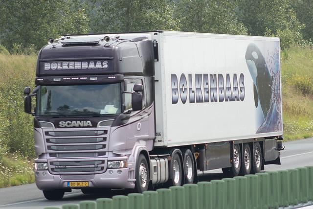 Scania R560 topline, from Bolkenbaas, Holland.