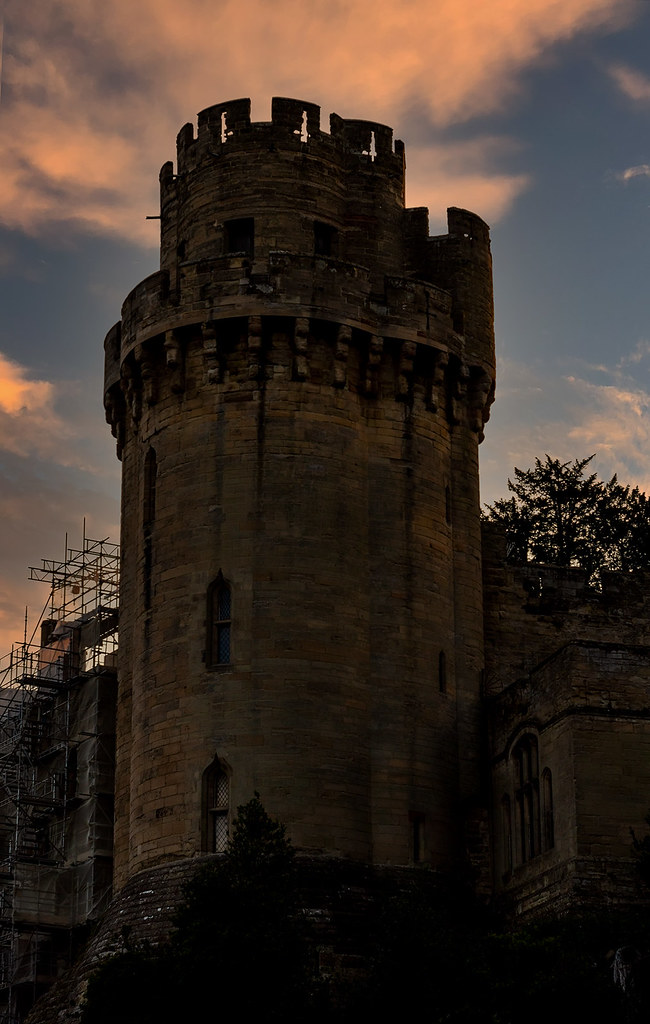 Warwick Castle Sunset..