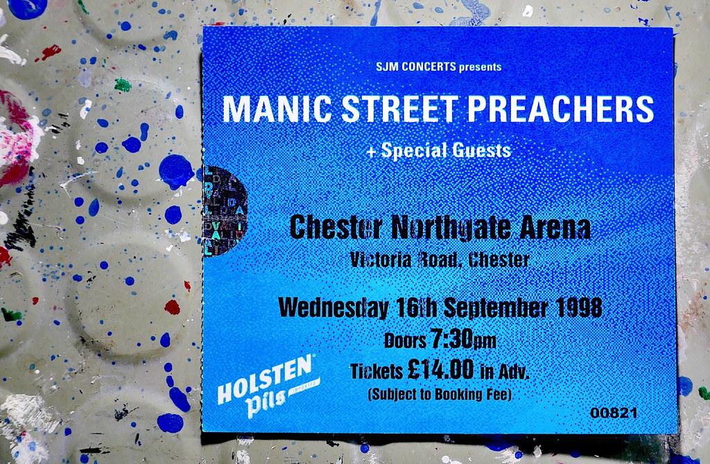 Manic Street Preachers, 1998 (Chester, England.)