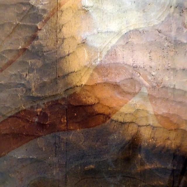 Paysage de pierre et de bois