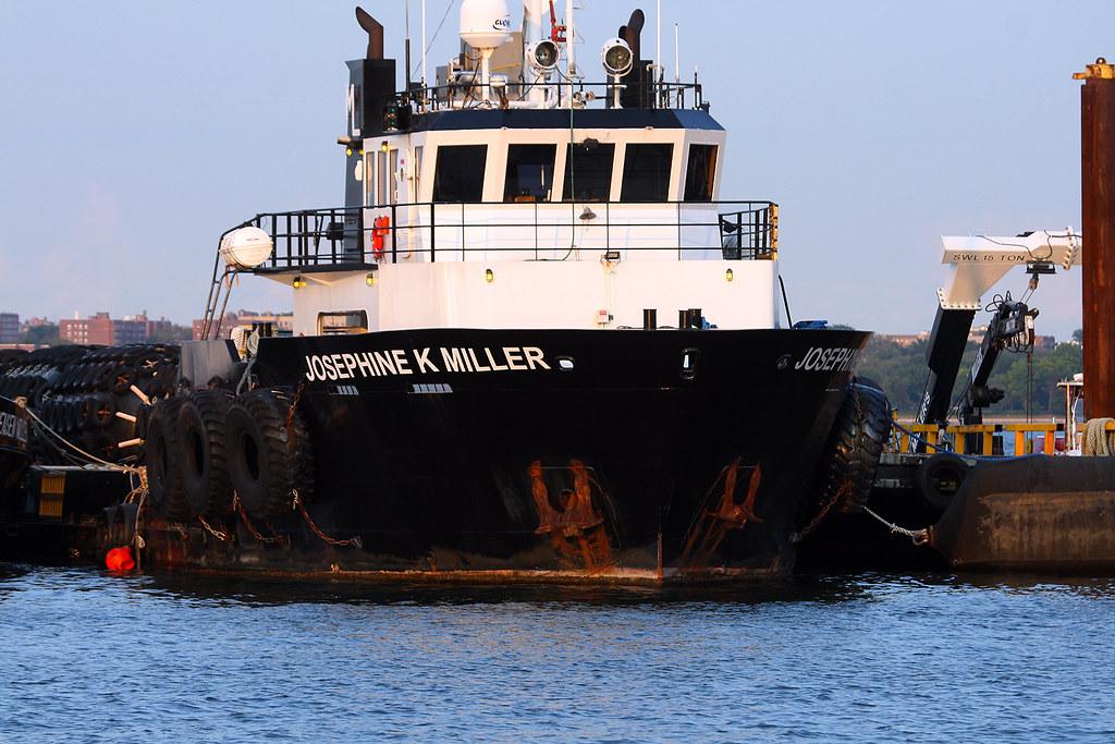 Josephine K Miller, at Miller's Launch, Staten Island, New York, USA. July, 2021