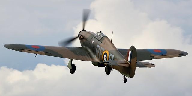 RAF Hawker Hurricane G-HURI  R4175  RF-R 303 Polish Squadron