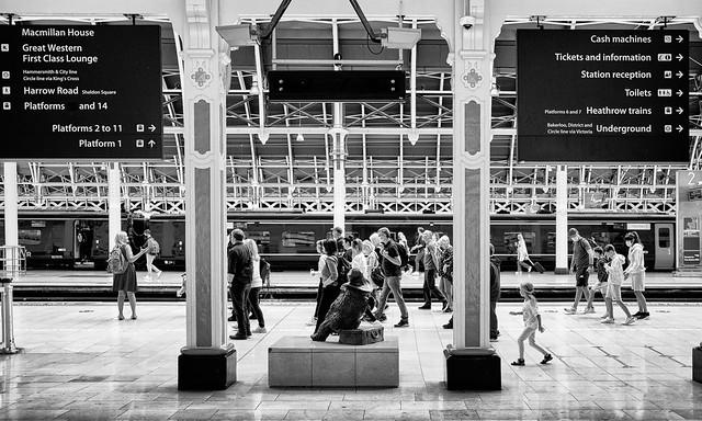 Paddington Station Entrance