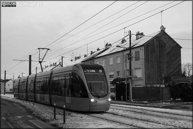 Alstom Citadis 302 – Setram (Société d'Économie Mixte des TRansports en commun de l'Agglomération Mancelle) n°1016 (Wilbur Wright)