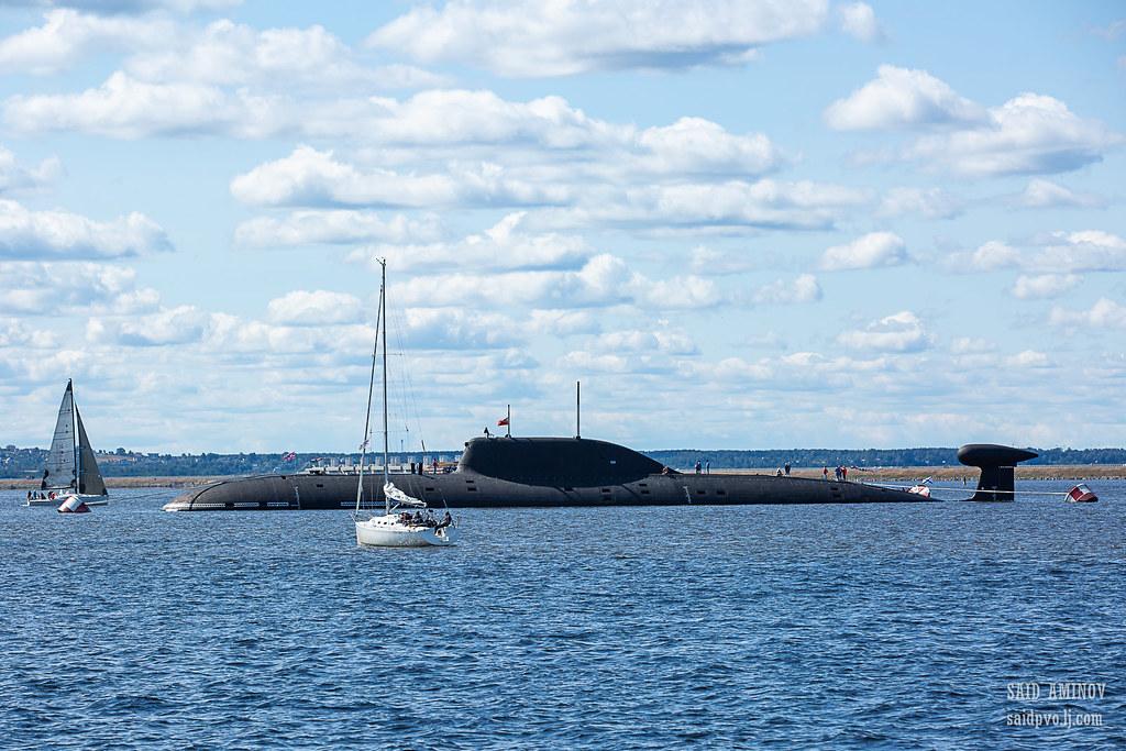 ГВМП-2021. Часть 1 - Подводные лодки в Кронштадте H18A3913