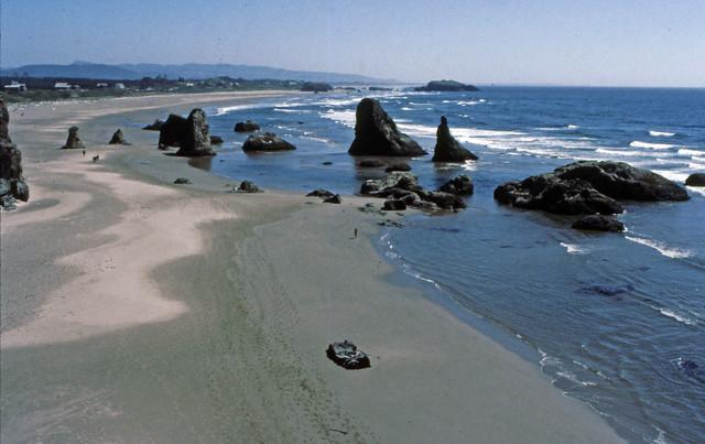 Oregon Coast,  July 26, 1984