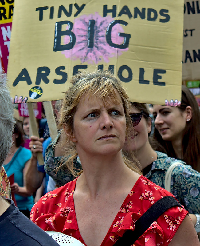 Dump Trump: UK Visit