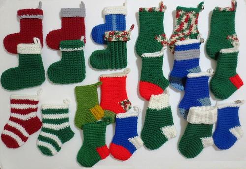 Mini Christmas Stockings for W4W