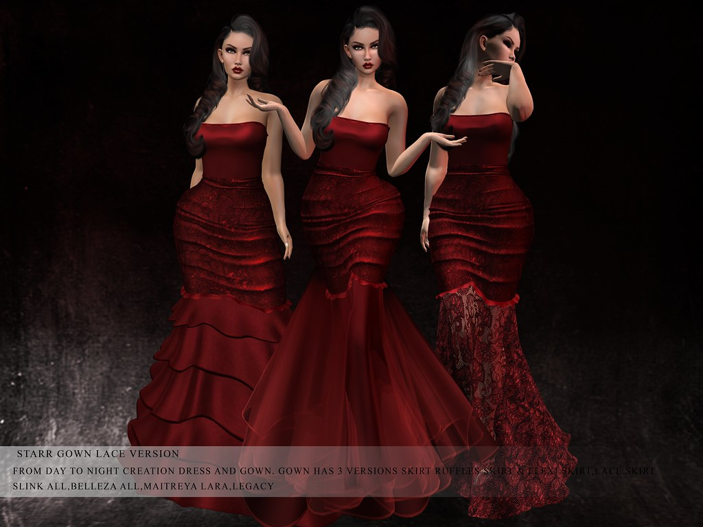 GGVG STARR GOWN LACE VERSION