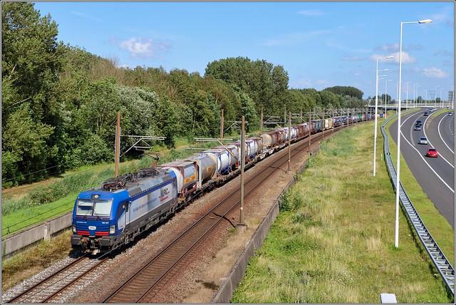 SBB 193 491 (Huac) Rotterdam Vaanplein - 29/07/2021