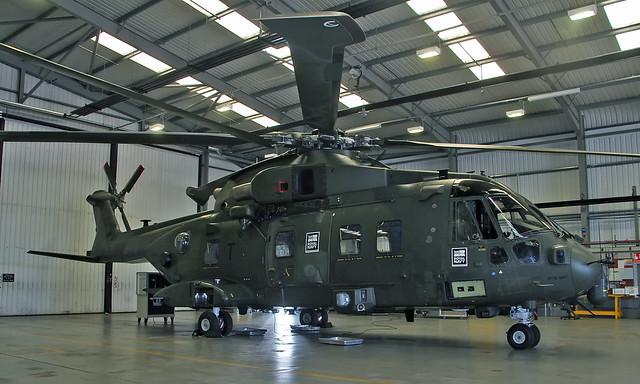 AgustaWestland AW101 Merlin HC.3i ZJ135/T [50187]