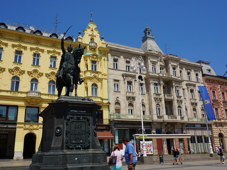 Zagreb city square
