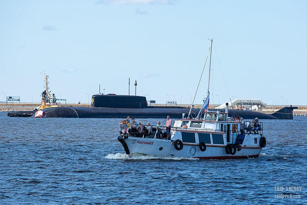 ГВМП-2021. Часть 1 - Подводные лодки в Кронштадте H18A3865