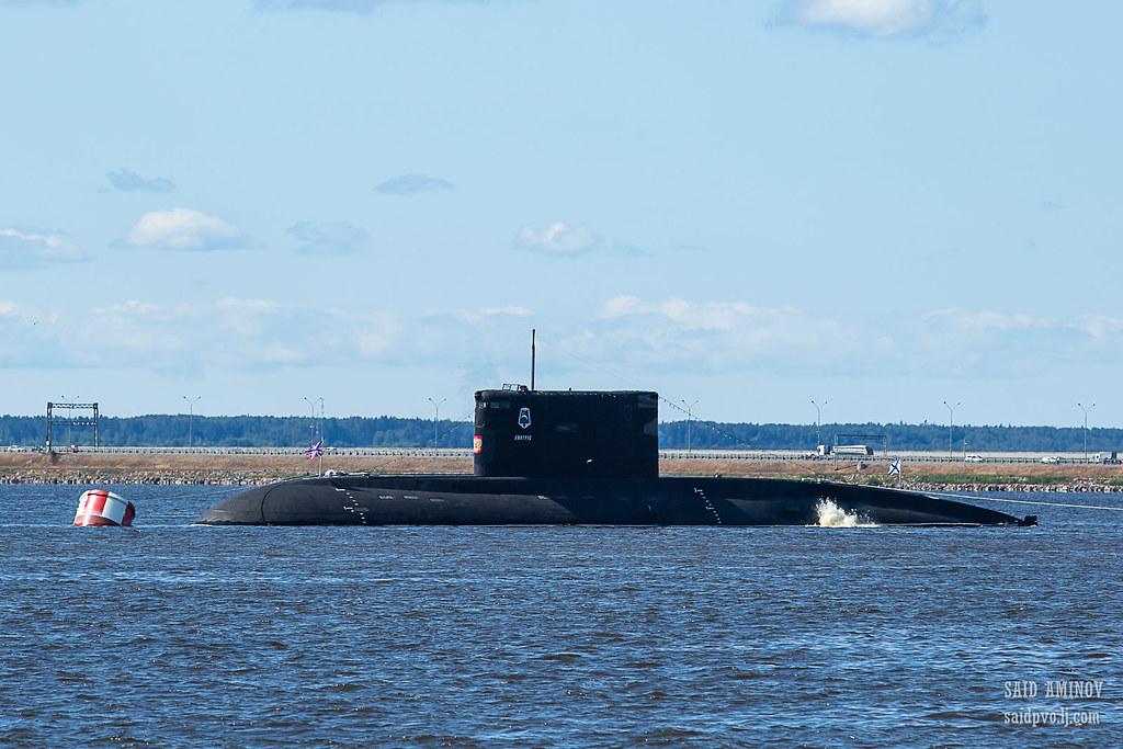 ГВМП-2021. Часть 1 - Подводные лодки в Кронштадте H18A3793
