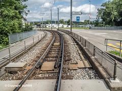 SUH650 Suhrentalbahn Railroad Bridge over the Suhre River, Oberentfelden, Canton of Aargau, Switzerland